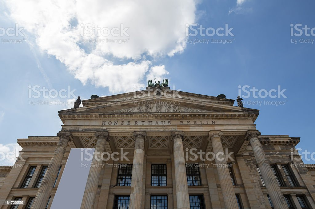 konzerthaus berlin at the gendarmenmarkt stock photo