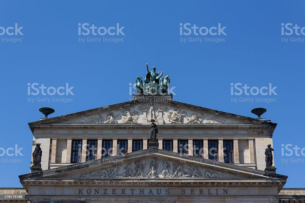 Konzerthaus Berlin - Gendarmenmarkt stock photo