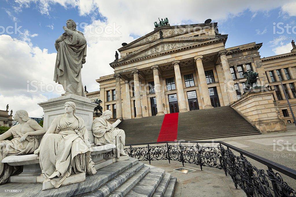Konzerthaus Berlin stock photo