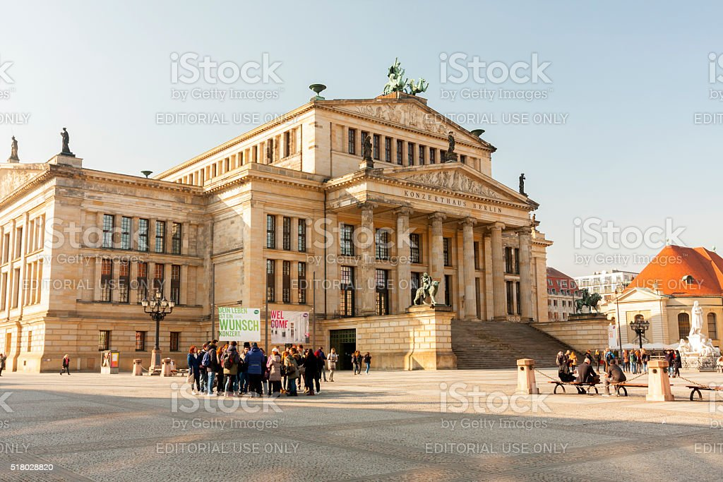 Konzerthaus Berlin stock photo