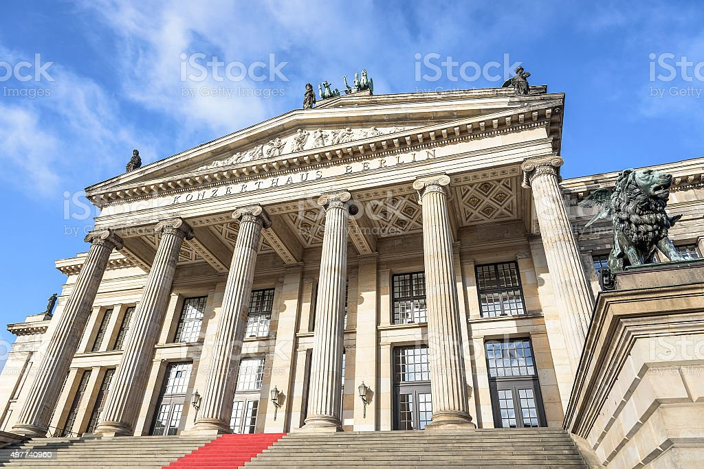 Konzerthaus in Berlin stock photo