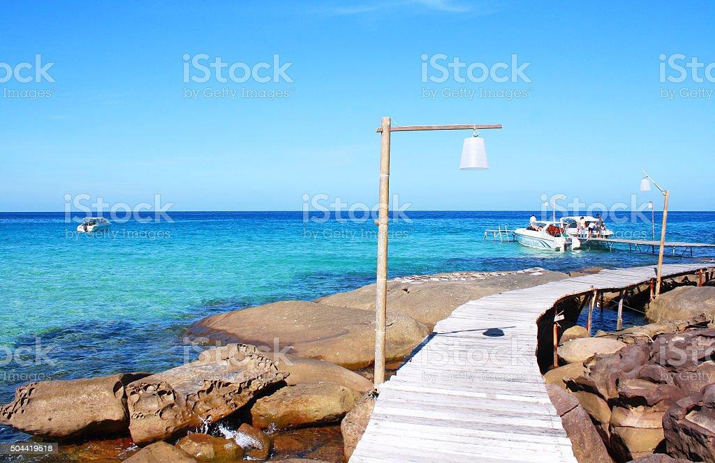 Kood island, Koh Kood, Trat province Thailand stock photo