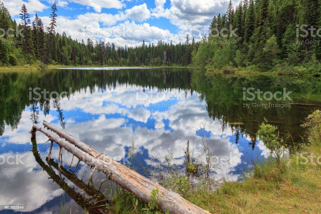 Kootenay Lake Canada stock photo