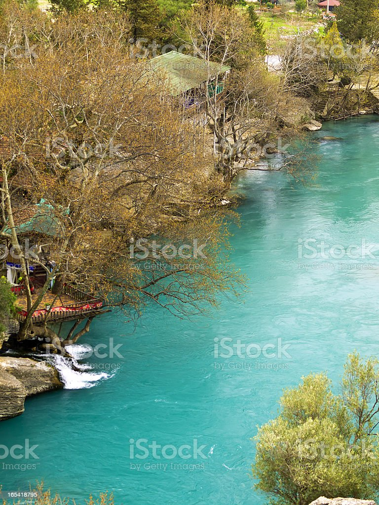 Koprolu Kanyon spring stock photo