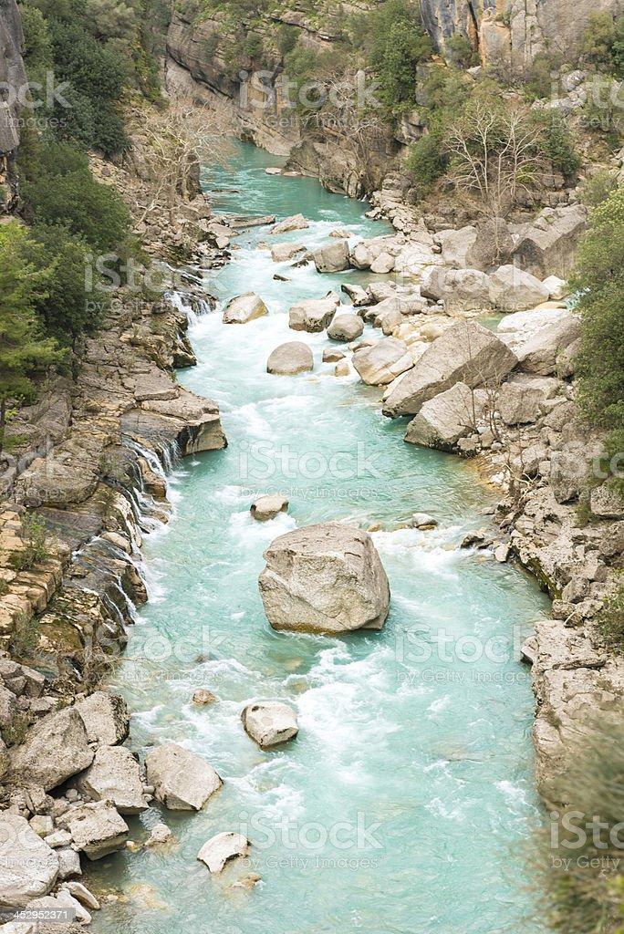 Kopru Canyon royalty-free stock photo