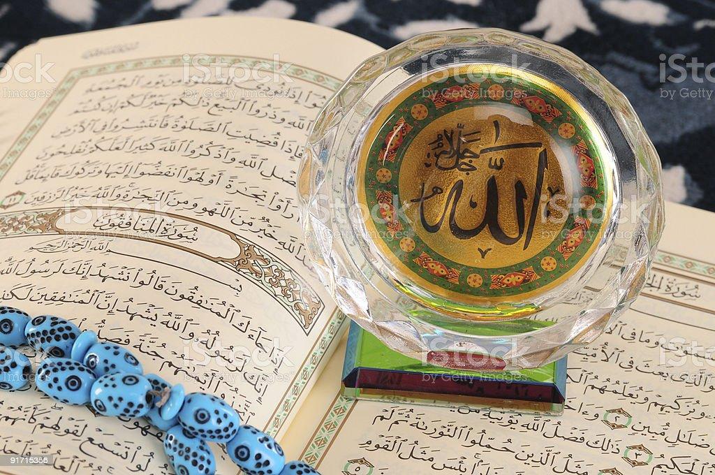 Koran. Concept of peace and faith. royalty-free stock photo