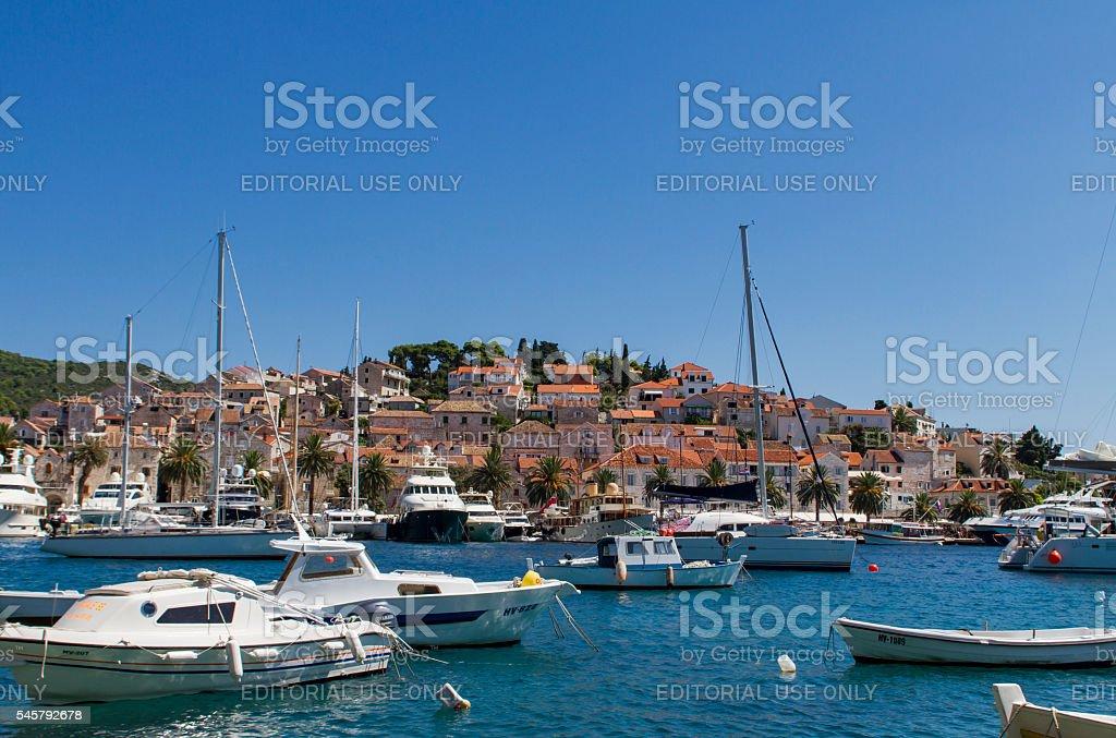 Korcula, Croatia stock photo
