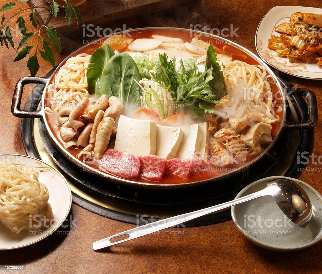 Korea Hotpot stock photo