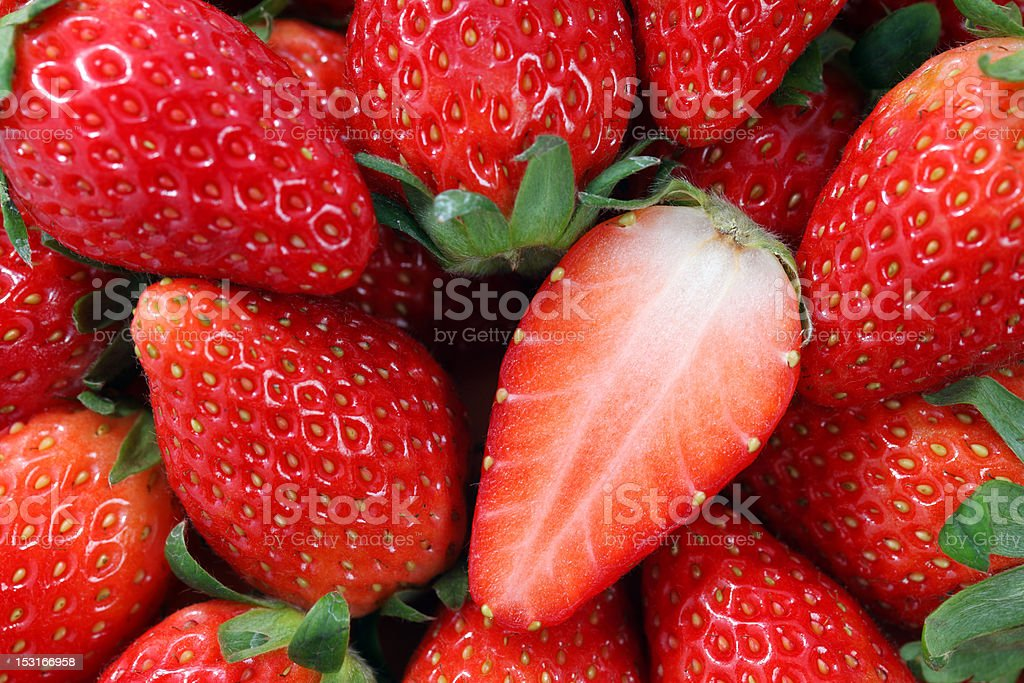 Korea Strawberry royalty-free stock photo