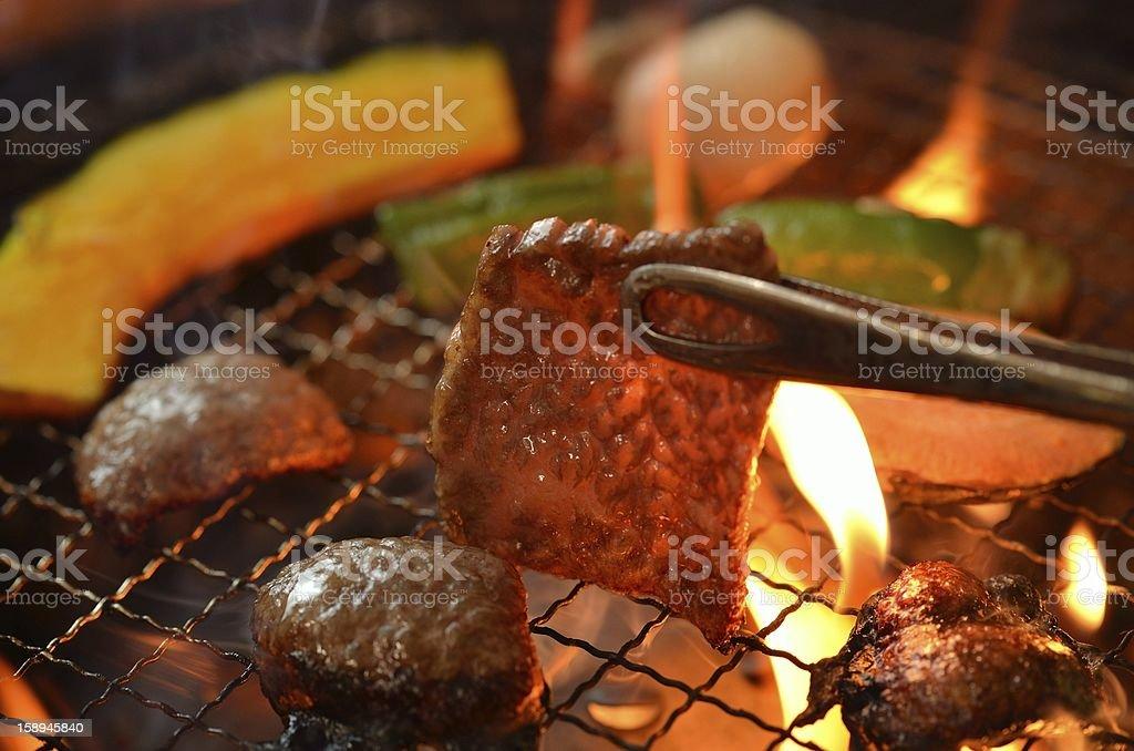 Korean barbecue Yakiniku stock photo