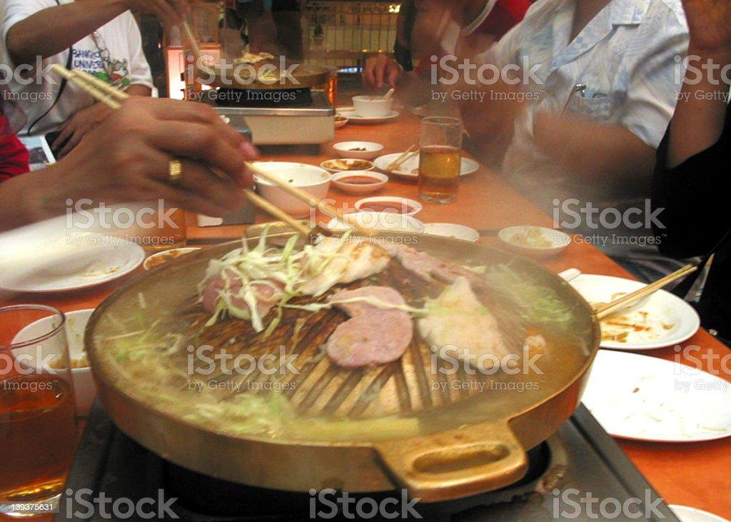 Korean BBQ || royalty-free stock photo