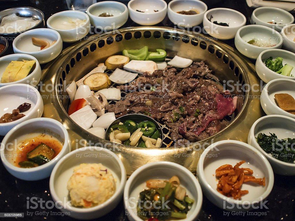 Korean BBQ stock photo
