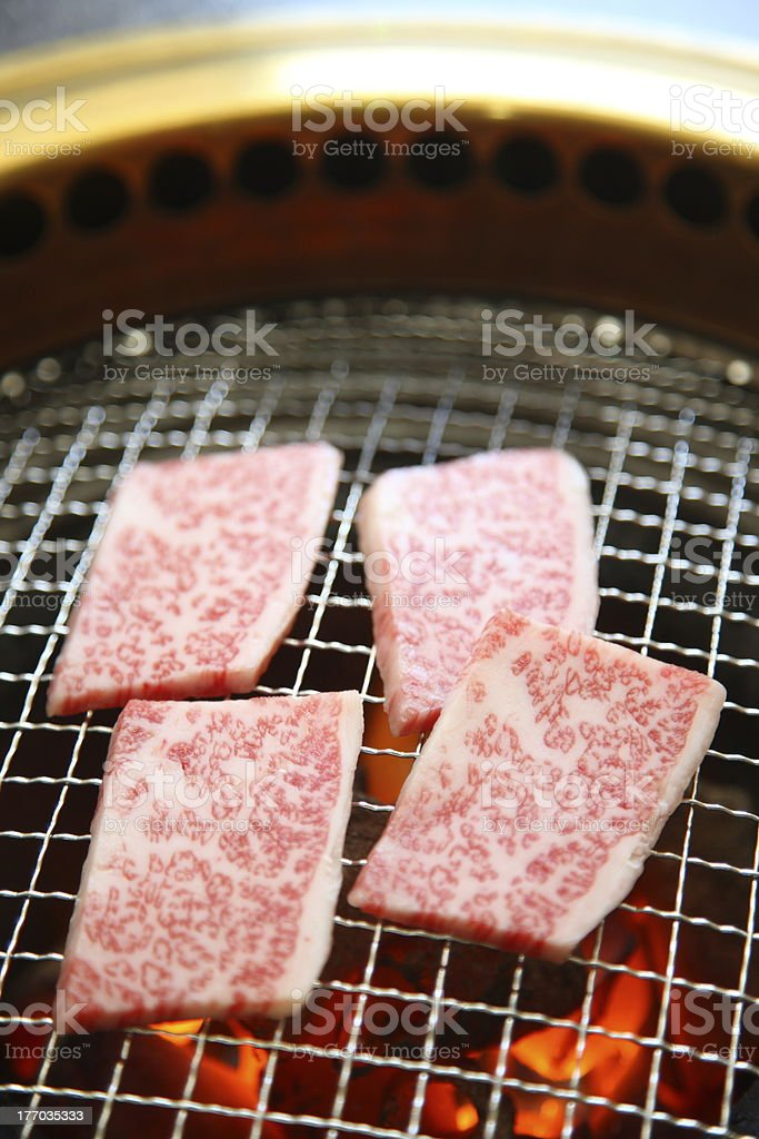 korean beef BBQ royalty-free stock photo