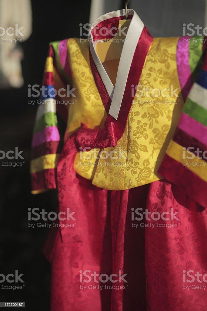 Korean clothes royalty-free stock photo