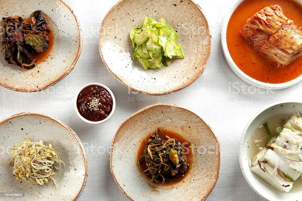 korean food, eating royalty-free stock photo