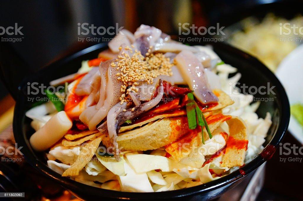 Korean food stock photo