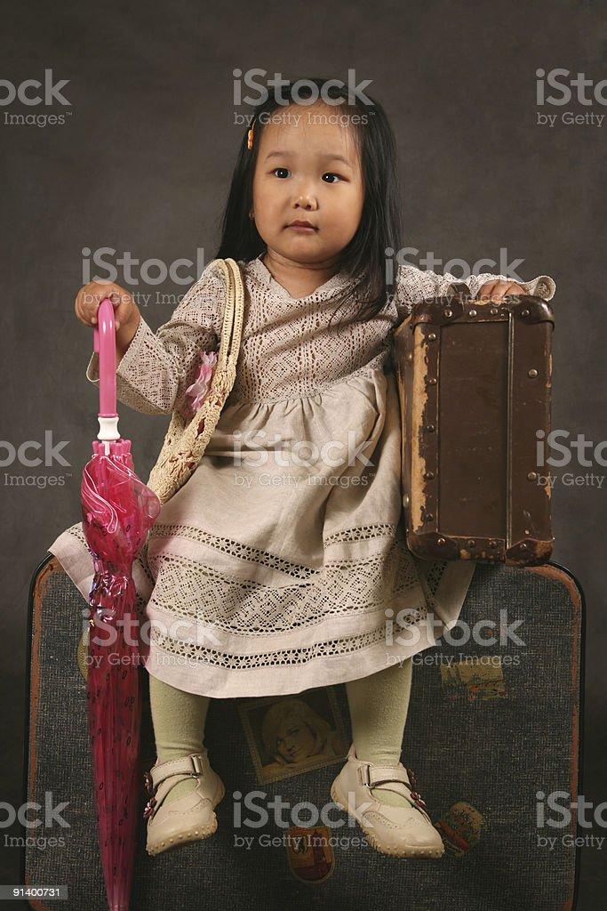 Korean girl royalty-free stock photo