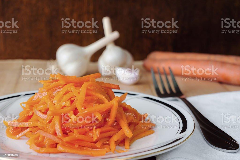 Coreano salada quente foto de stock royalty-free