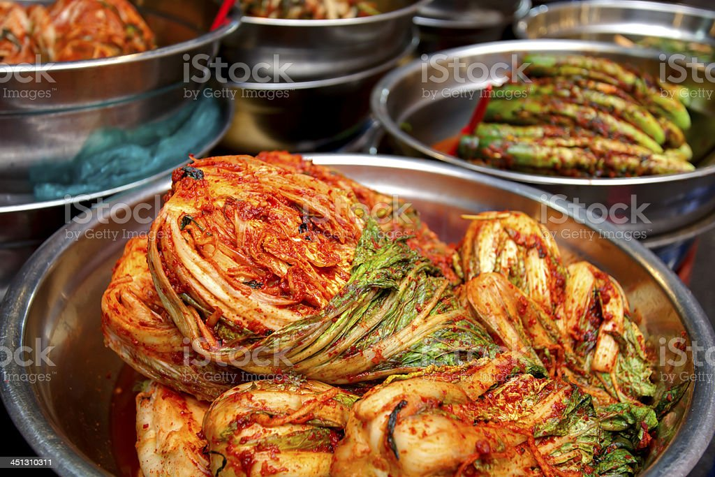 Korean kimchee royalty-free stock photo