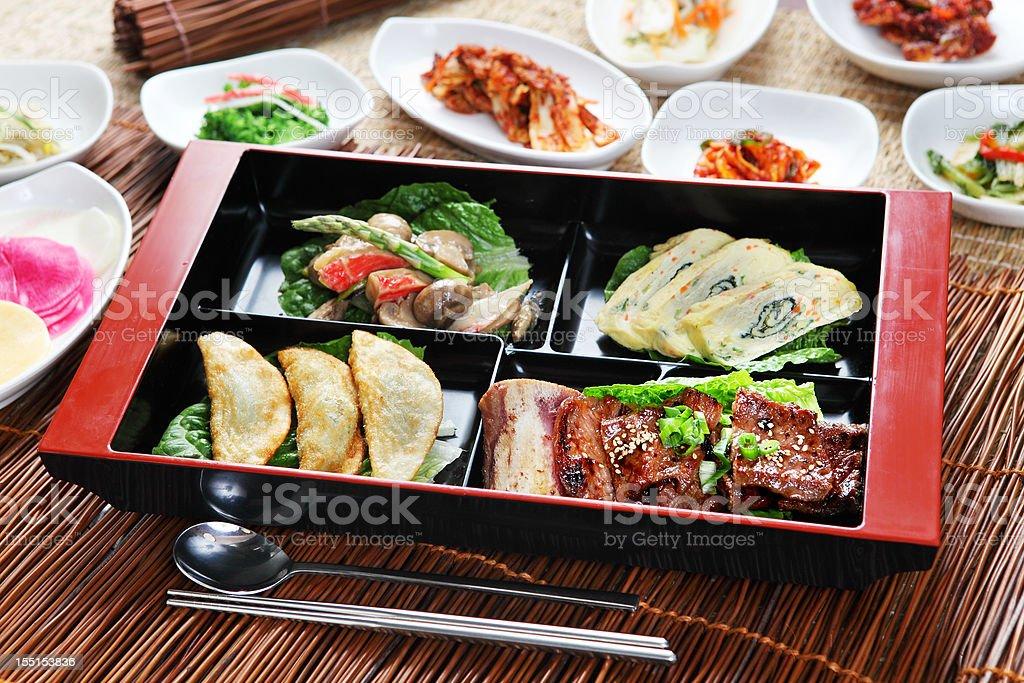 korean Lunch Box royalty-free stock photo