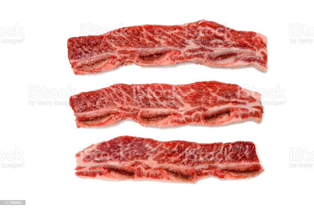 Korean short ribs stock photo