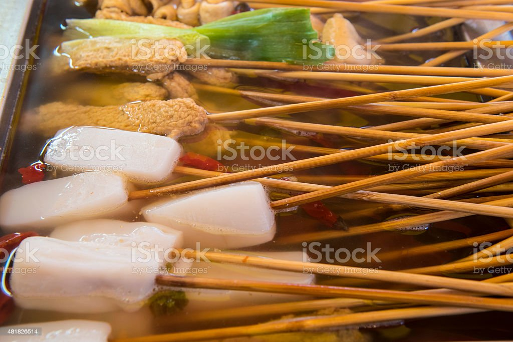 Korean Street Food stock photo