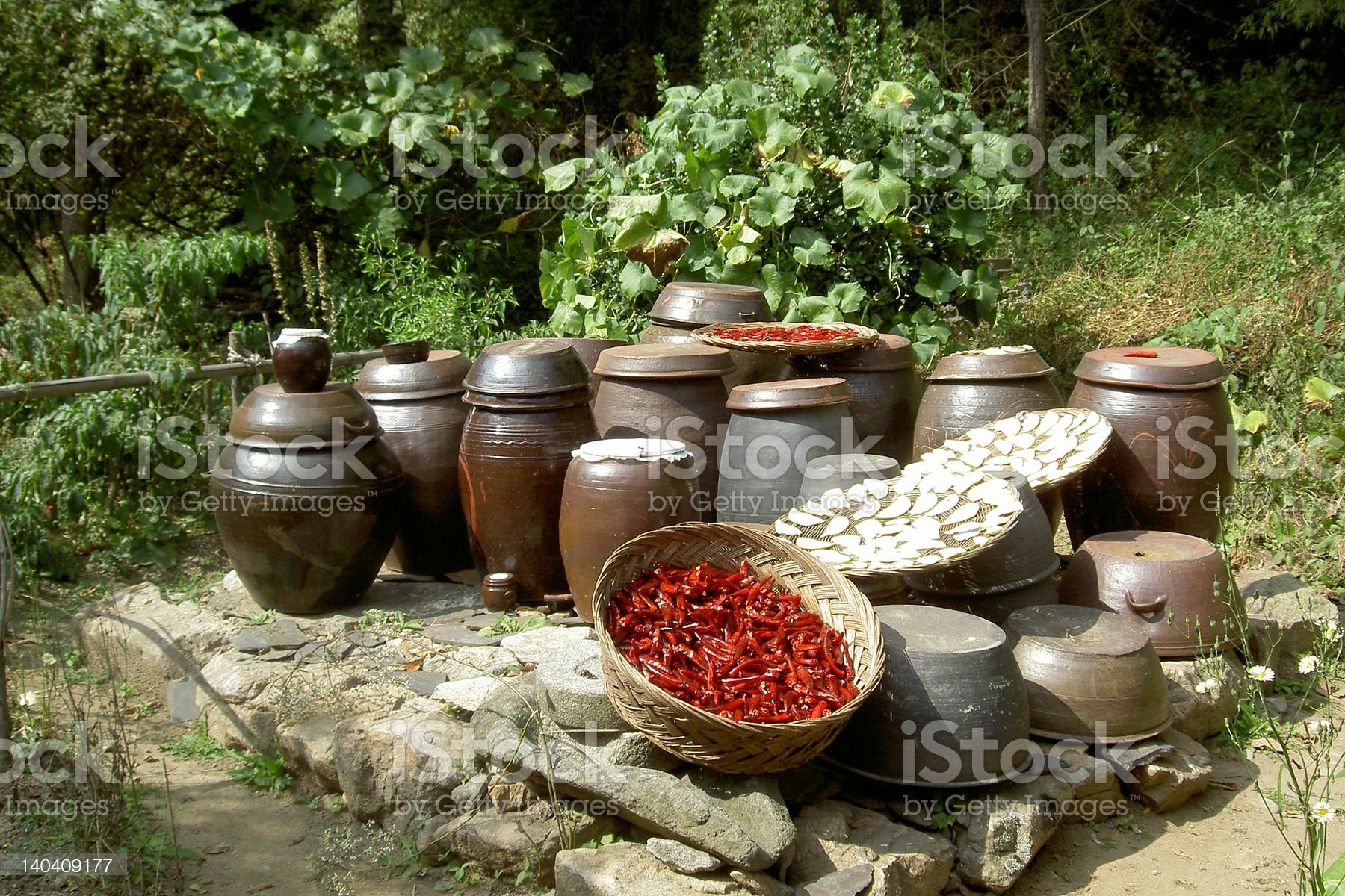 Korean Tradition royalty-free stock photo