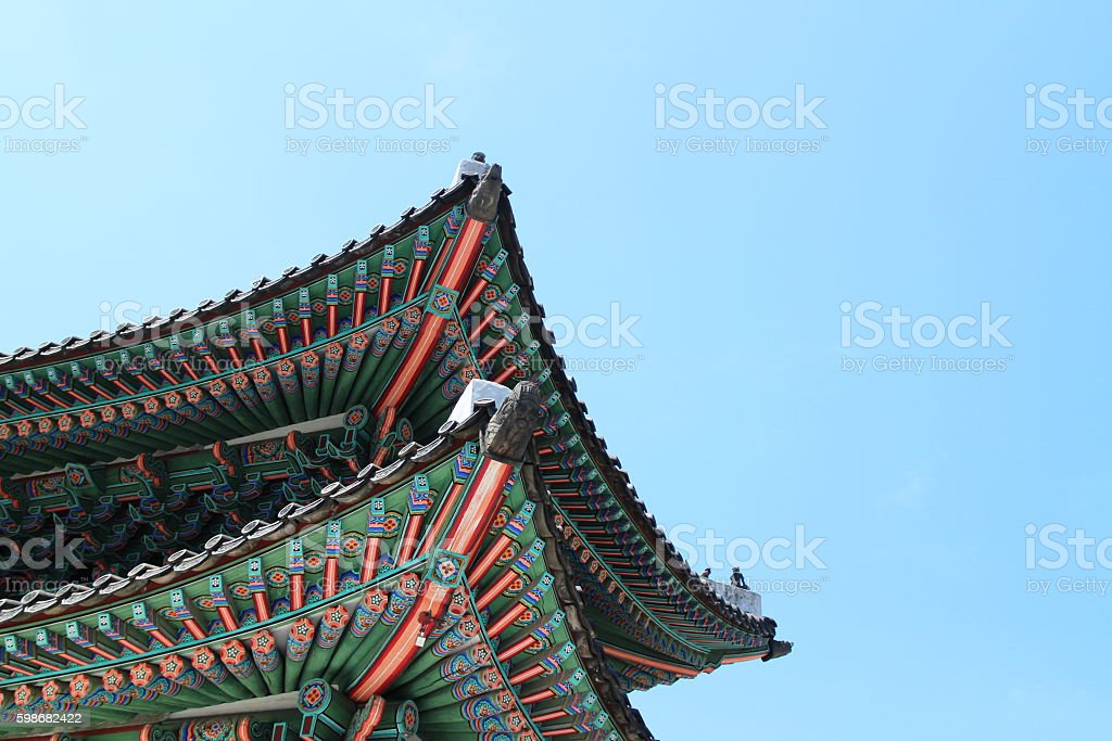 korean traditional beaty stock photo