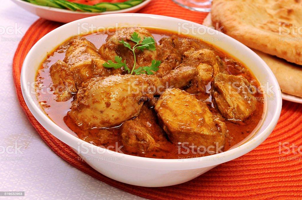 Korma Chicken stock photo