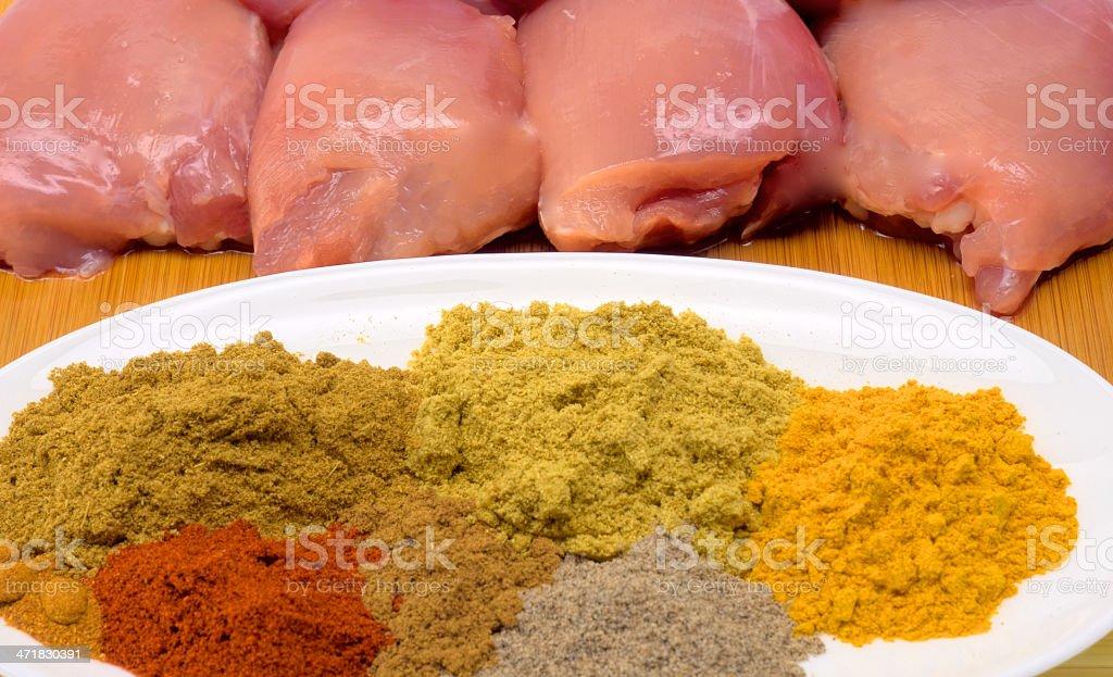 korma spices royalty-free stock photo