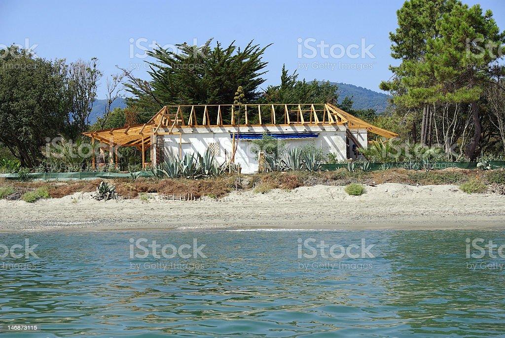 Korsika stock photo