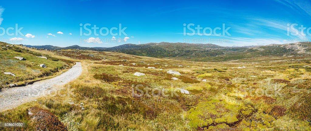 kosciuszko national park stock photo
