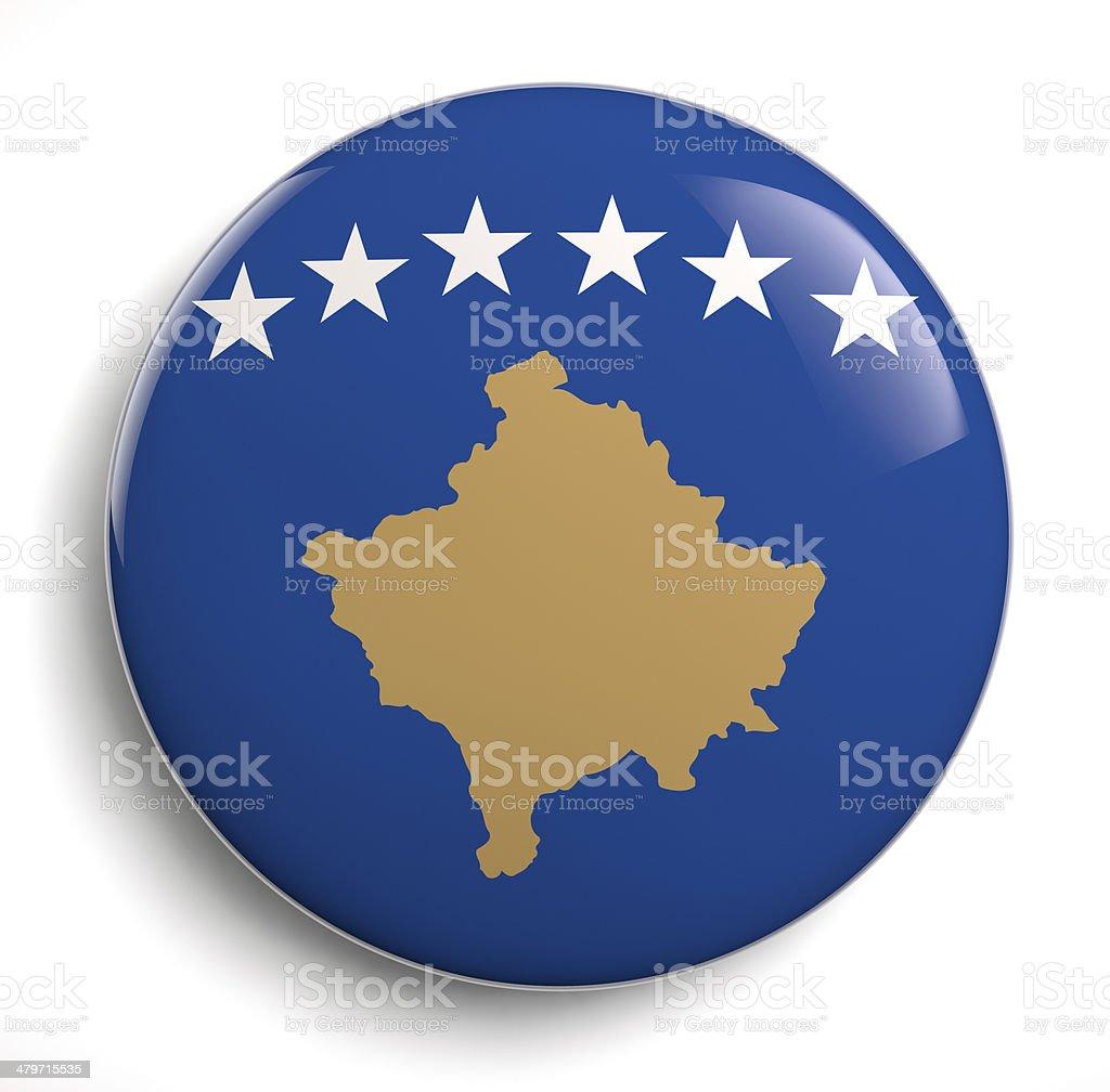 Kosovo flag stock photo