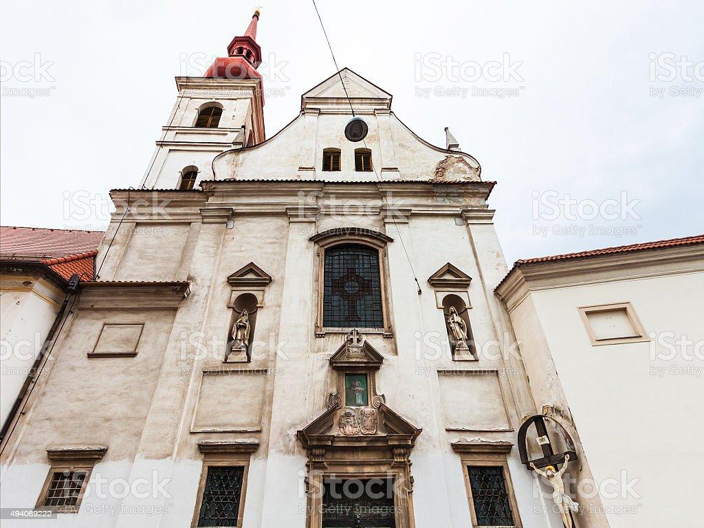 Kostel Sv Josefa (Church of St Joseph), Brno stock photo