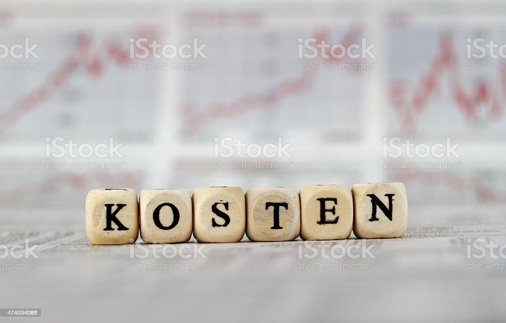 Kosten stock photo