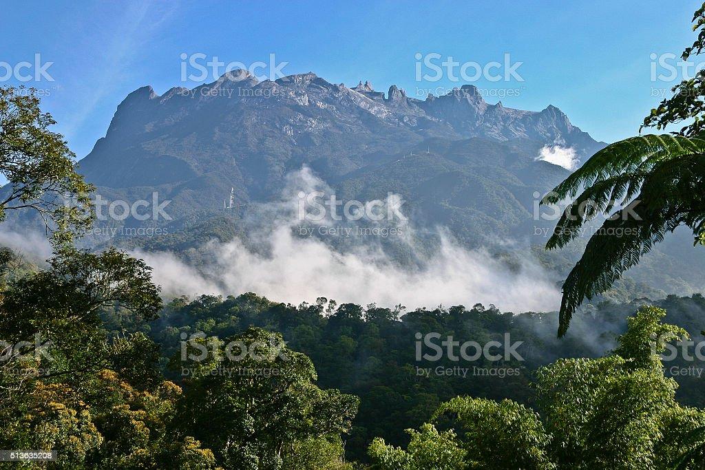 Kota Kinabalu (Mount Kinabalu), Borneo (Land Below The Wind) stock photo