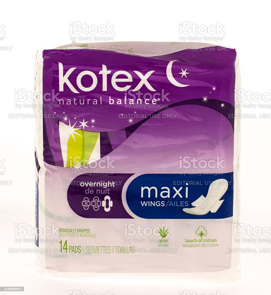 Kotex stock photo