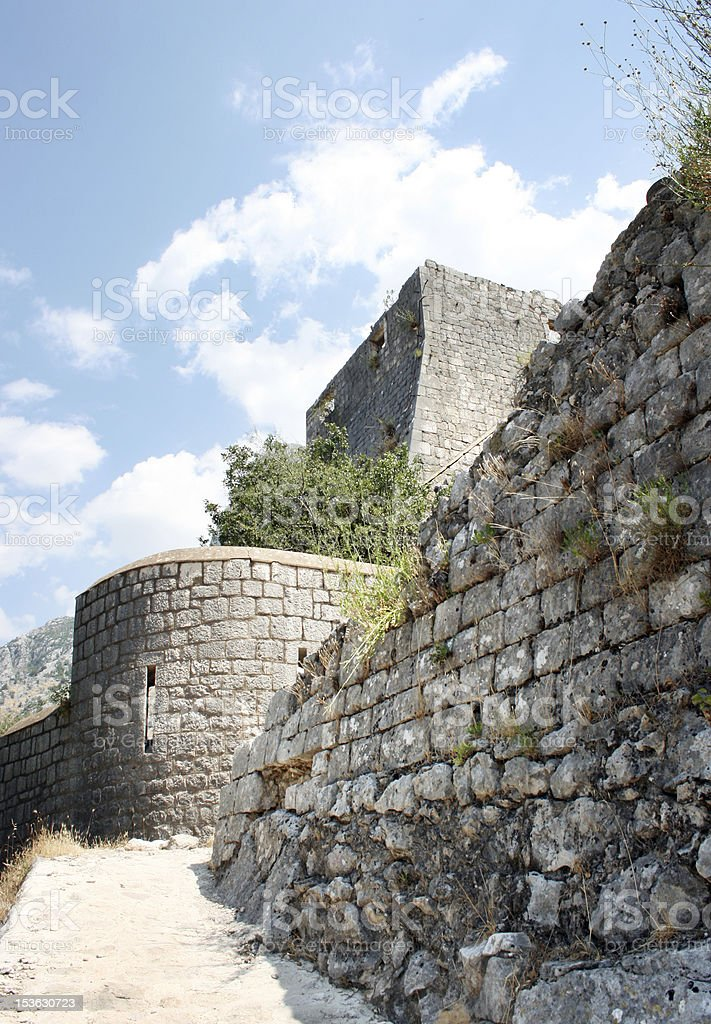 Kotor in Montenegro royalty-free stock photo