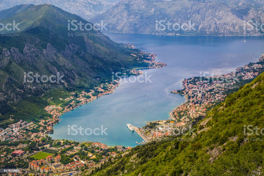 Kotor stock photo