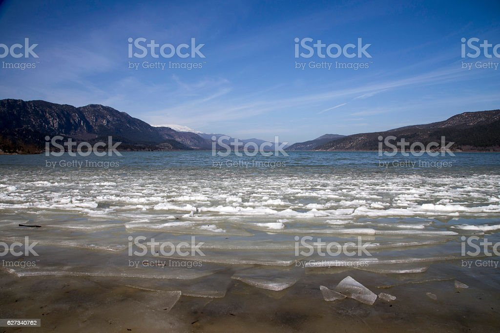 Kovada lake. stock photo