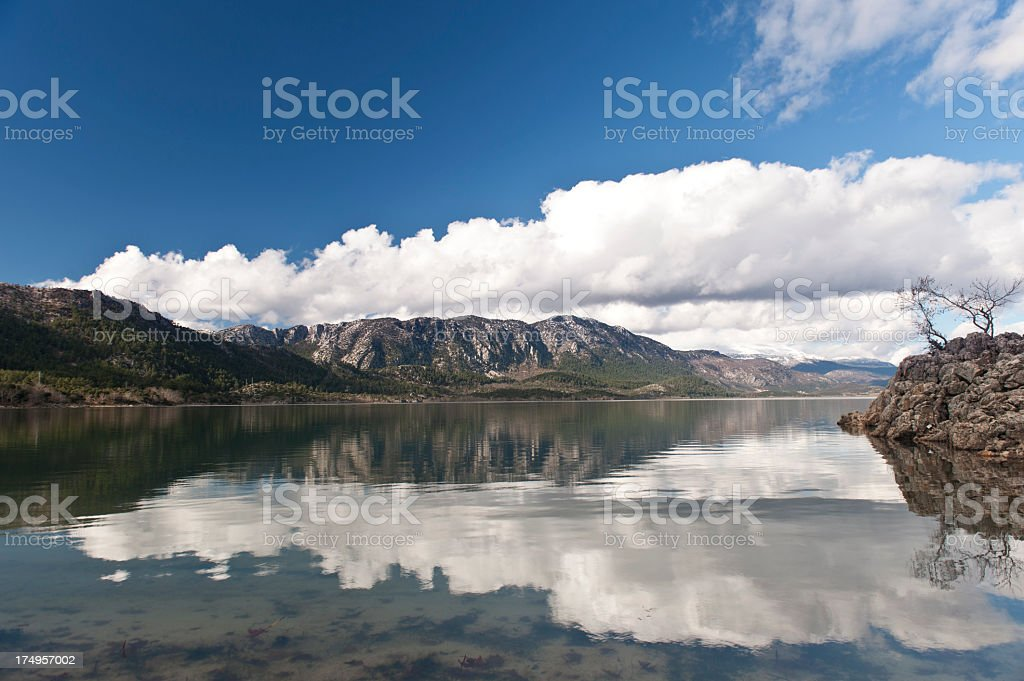 Kovada Lake Scene royalty-free stock photo