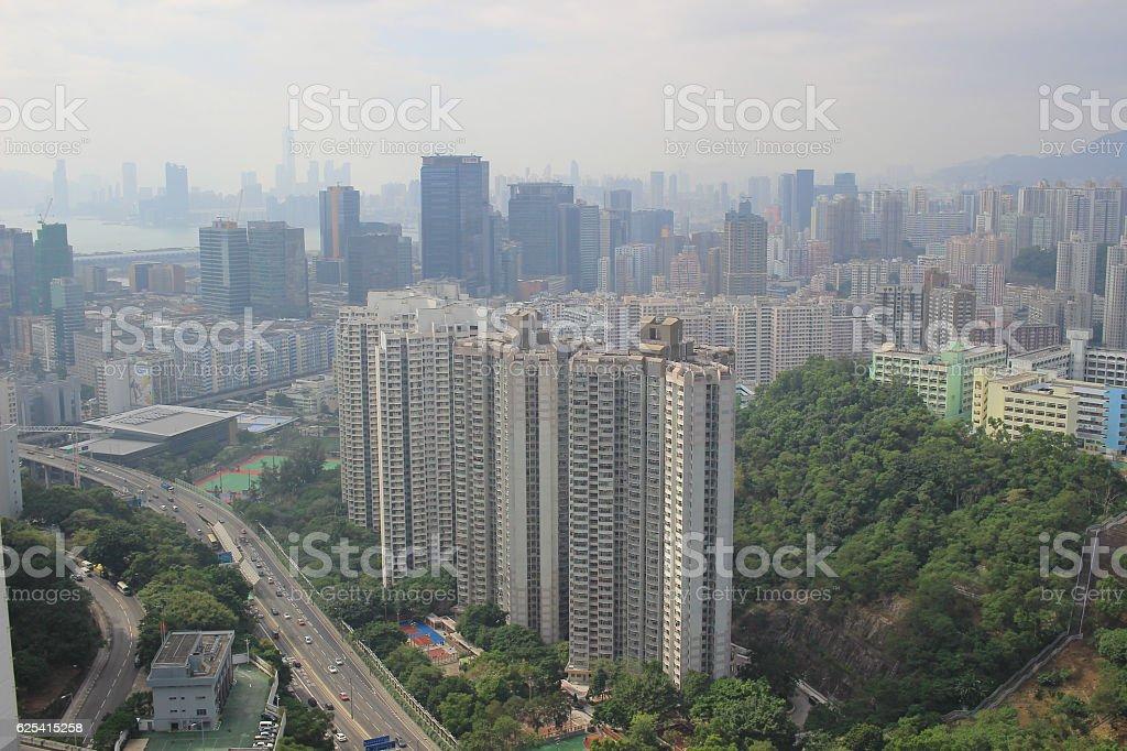Kowloon East, Hong Kong  2016 stock photo