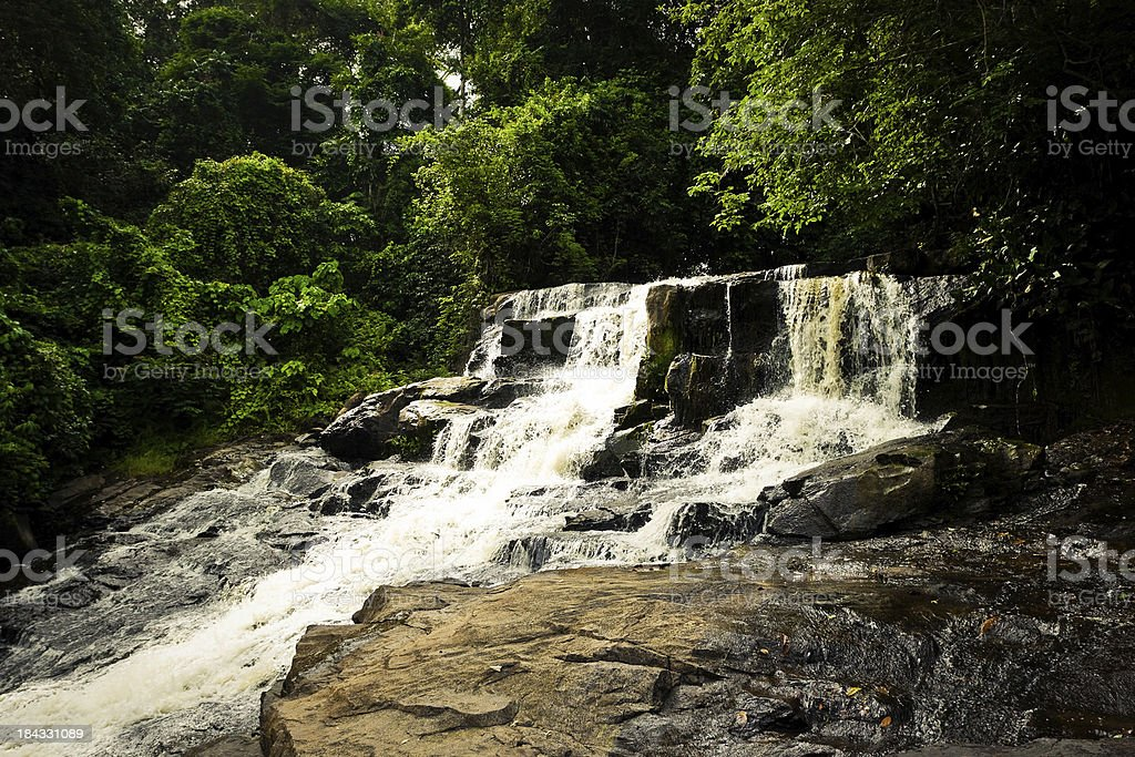 Kpatawee Waterfall royalty-free stock photo