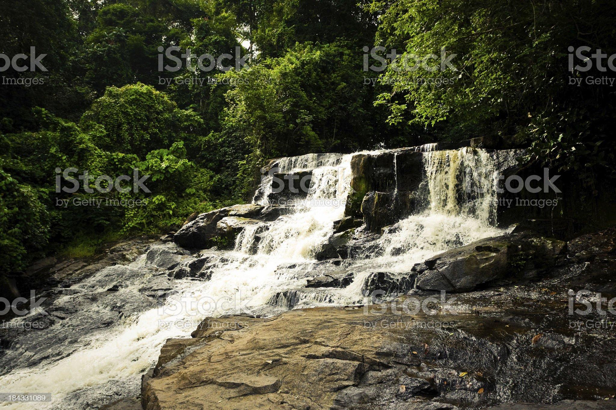 Kpatawee Waterfall royalty-free stock photo