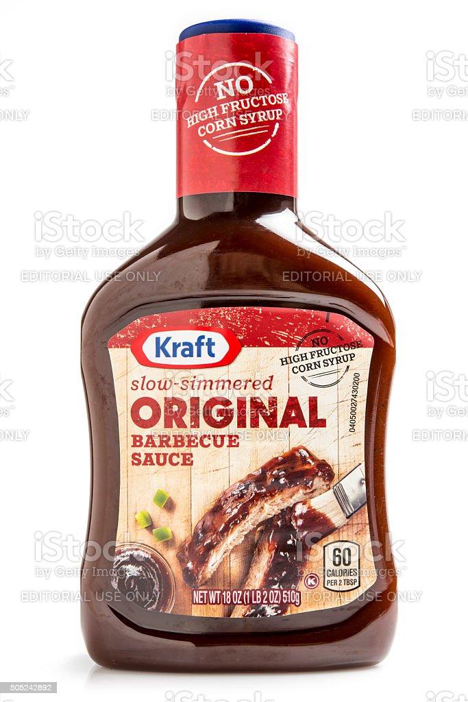 Kraft Original Barbecue Sauce stock photo