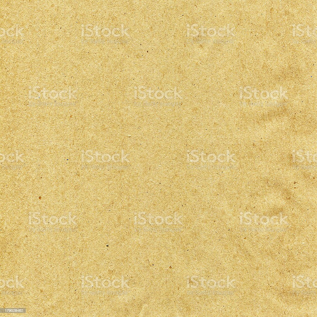 Kraft paper sand with brown speckles. royalty-free stock photo