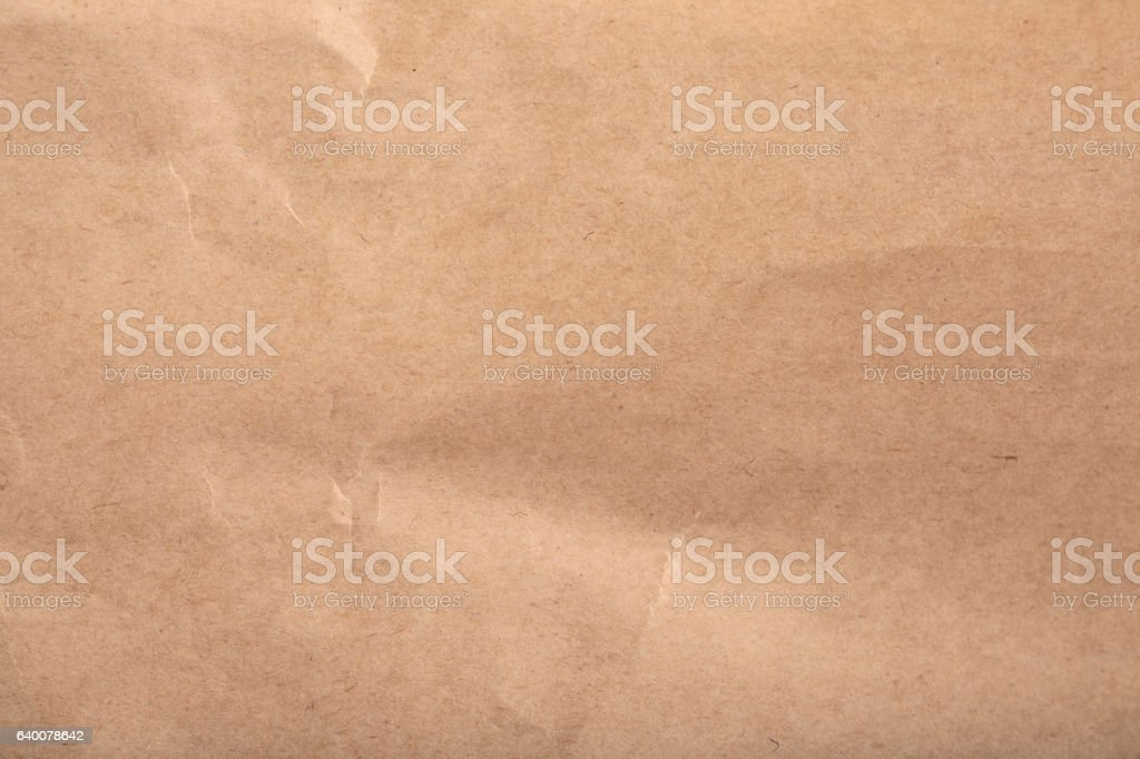 Kraft paper texture / background stock photo