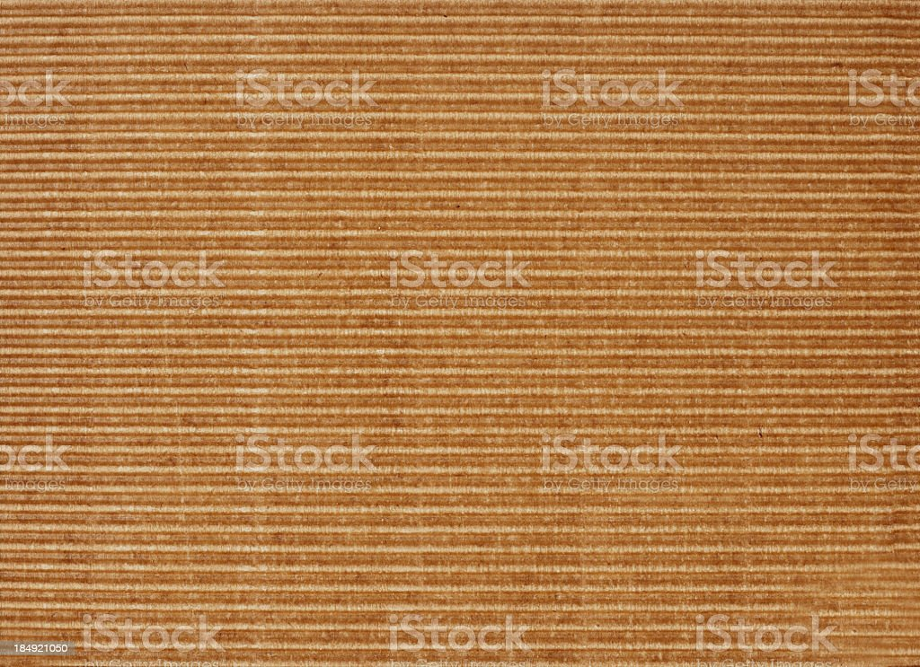 Kraft Texture with Lines royalty-free stock photo