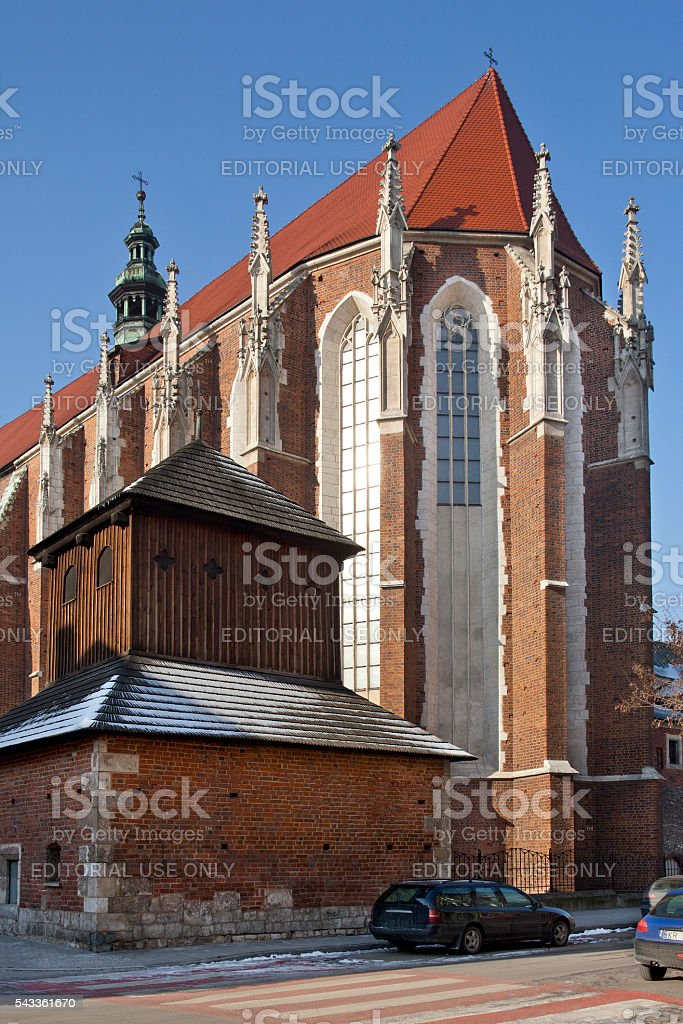 Krakow - Church of St Catherine - Poland stock photo