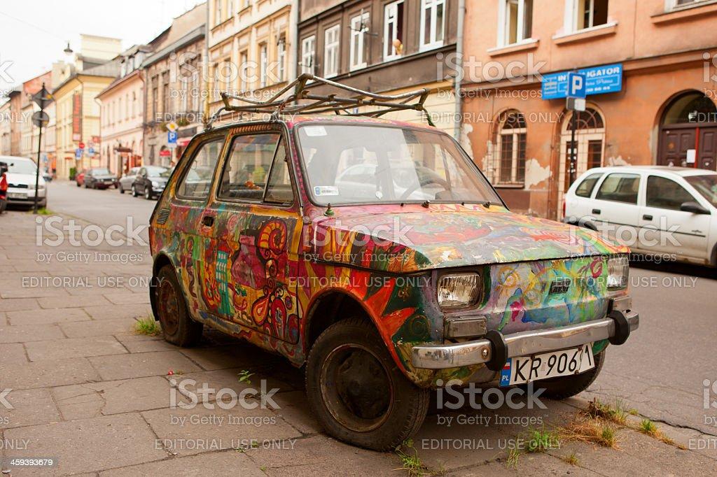 Krakow Fiat Polski stock photo